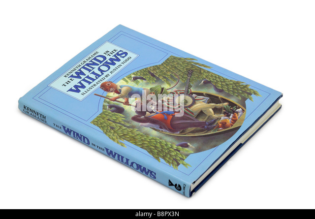 Children's Book Wind in the Willows - Stock Image