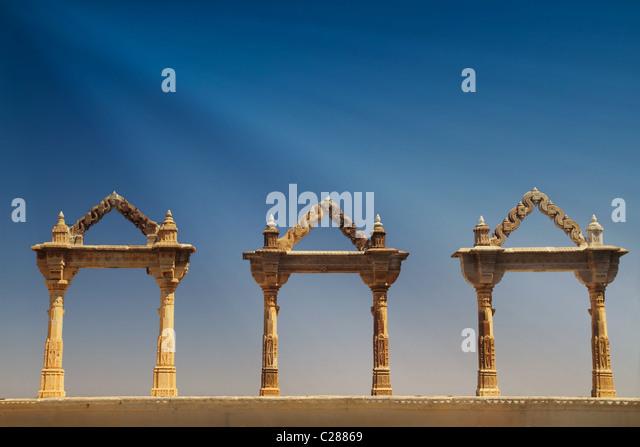 Ancient ruins Udaipur, India - Stock-Bilder