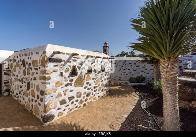 Traditional House in  Antigua , Fuerteventura, Canary Islands , Spain - Stock Image