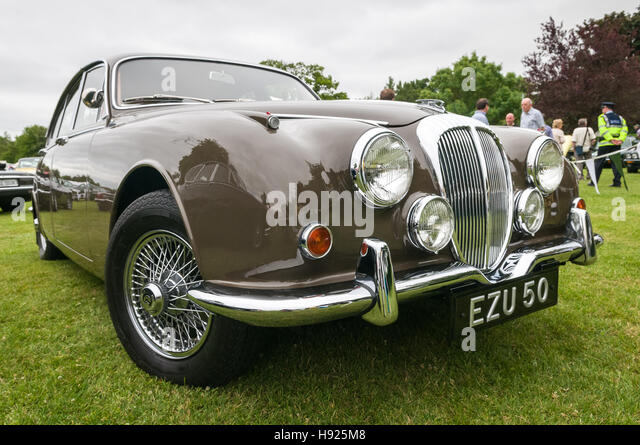 Jaguar xk 150 - Stock Image