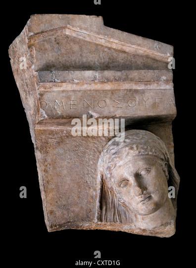 Greek Stele Stock Photos & Greek Stele Stock Images - Alamy Grave Stele Of Ktesilaos And Theano