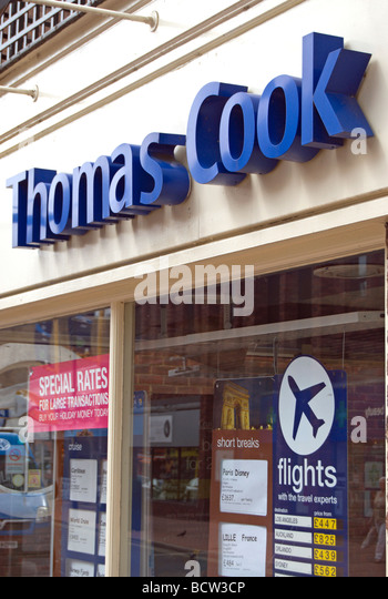 thomas cook store stock photos thomas cook store stock images alamy. Black Bedroom Furniture Sets. Home Design Ideas
