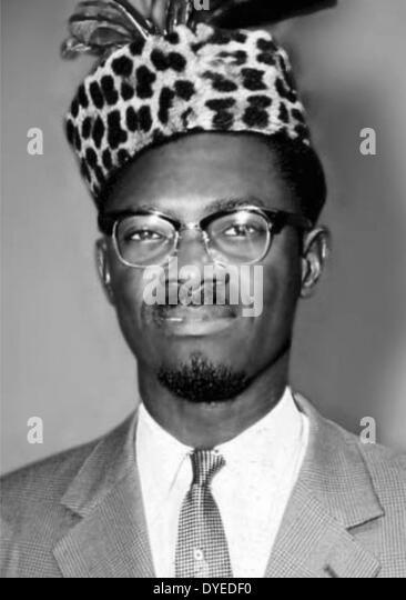 Patrice Lumumba 1925-1961. Congolese independence leader - Stock-Bilder
