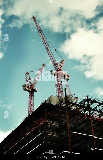cranes - Stock-Bilder