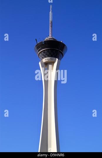Nevada Las Vegas Stratosphere Casino Hotel & Tower - Stock Image