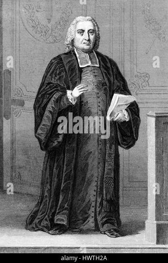 GUILLAUME-CHRÉTIEN de LAMOIGNON de MALESHERBES (1721-1794) French statesman and lawyer - Stock-Bilder