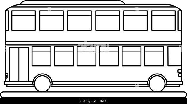 double decker bus vector stock photos amp double decker bus