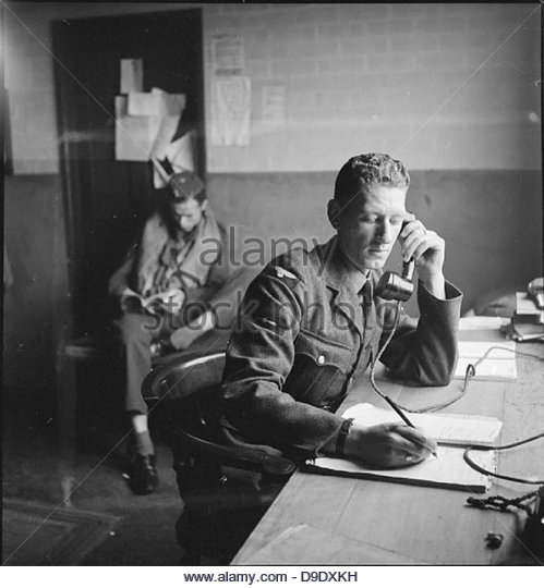 Americans in Britain- the work of No 121 (eagle) Squadron RAF, Rochford, Essex, August 1942 D9513 - Stock-Bilder