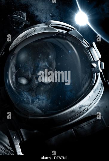 ASTRONAUT STRANDED (2012) - Stock Image
