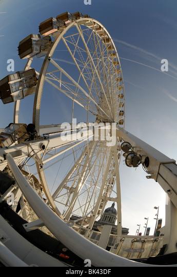 The Wheel of Nottingham, Old Market Square, Nottingham, England, UK. - Stock Image