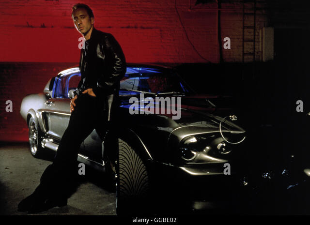 ACK86359.jpg NUR NOCH 60 SEKUNDEN Gone in Sixty Seconds USA 2000 Dominic Sena Randall 'Memphis' Raines (NICOLAS - Stock Image