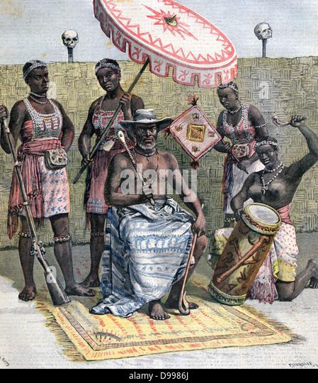 king behanzin of dahomey Dahomey war against france 1892 (dahomey war)  in 1892-93, he led the campaign against the native forces of king behanzin of dahomey his victory at abomey.