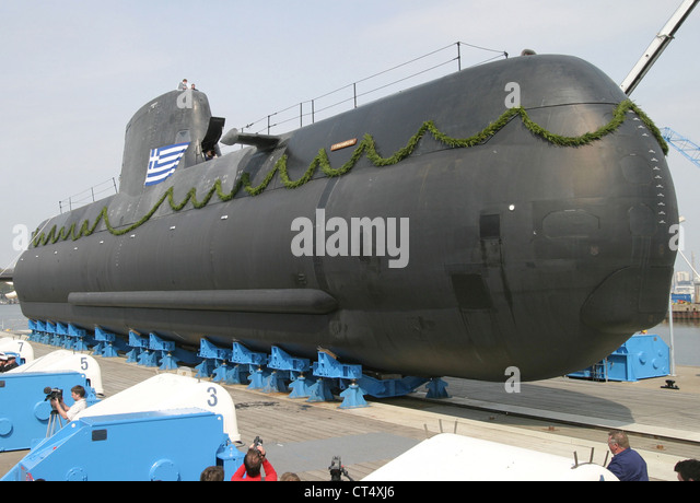 Kiel, fuel cell submarine - Stock Image