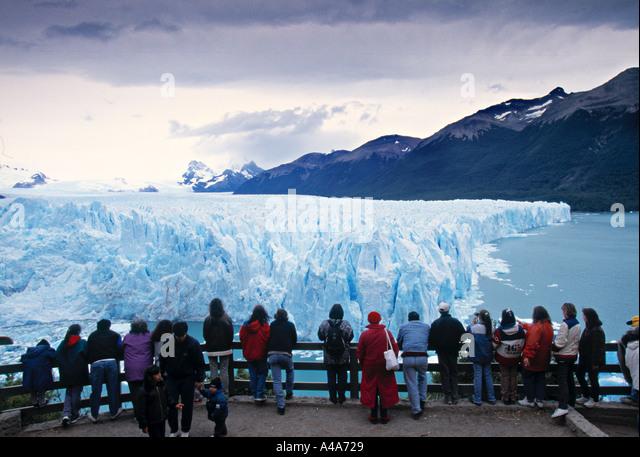 Glacier Pertito Moreno, Patagonia, Argentina - Stock Image