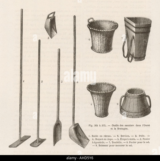 Salt Tools  C1871 - Stock-Bilder