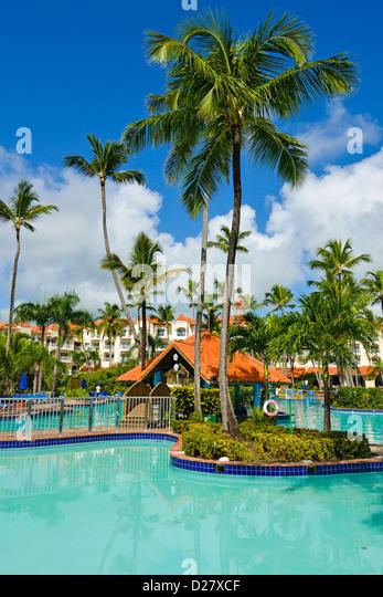 Barcelo Hotel resort, Punta Cana, Dominican Republic - Stock-Bilder