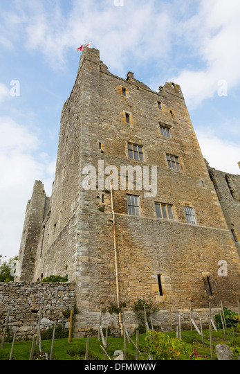 Bolton Castle, North Yorkshire Dales. - Stock Image