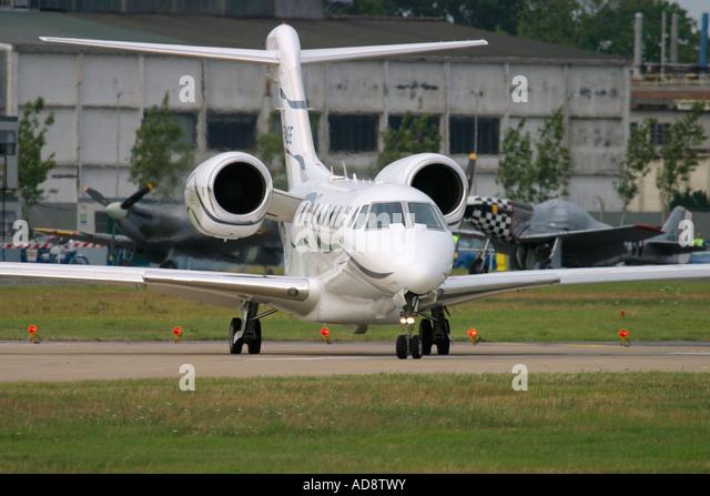 Business jet aircraft Cessna 750 Citation X - Stock Image