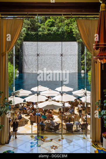 Wynn Hotel Outdoor Patio Restaurant