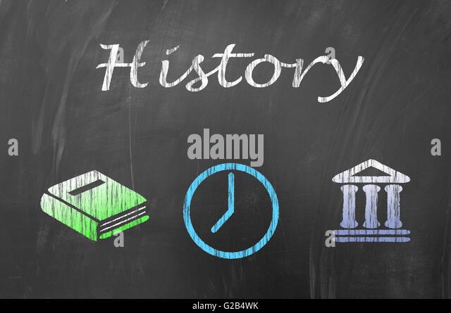 History lesson class stock photos history lesson class for Blackboard hampton