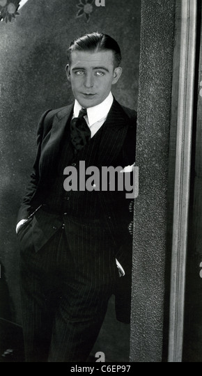 WALLACE REID (1892-1923) US silent film actor in 1921 film The Affairs of Anatol - Stock Image