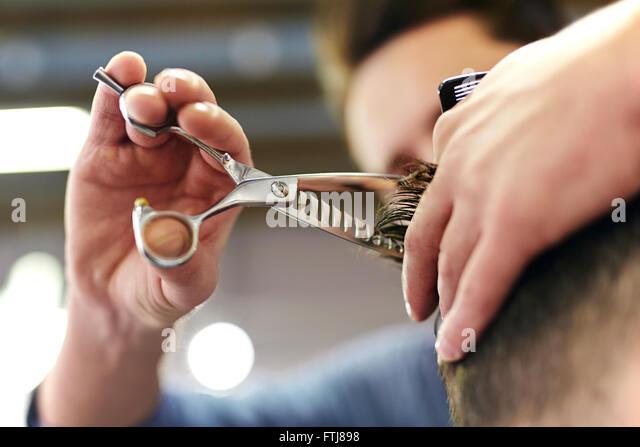 Hairdressing - Stock Image