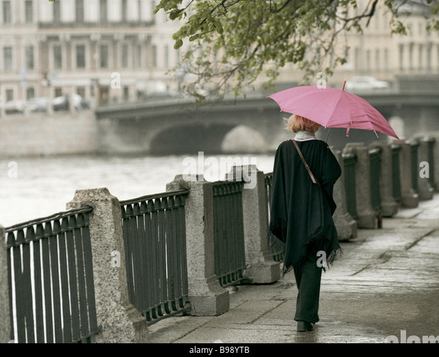 A poetic presence on a humid day - Stock Image