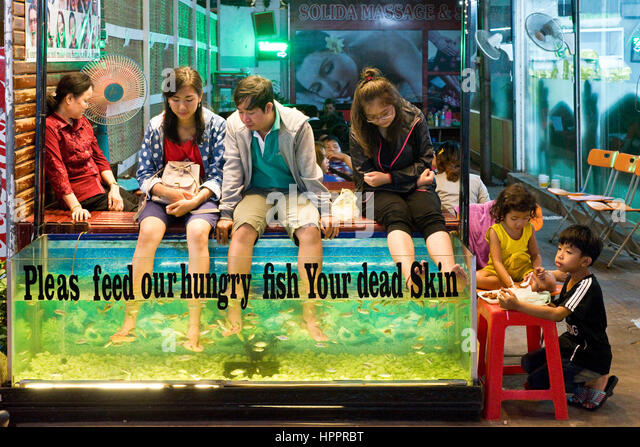 Fish foot massage stock photos fish foot massage stock for Chinese fish market near me