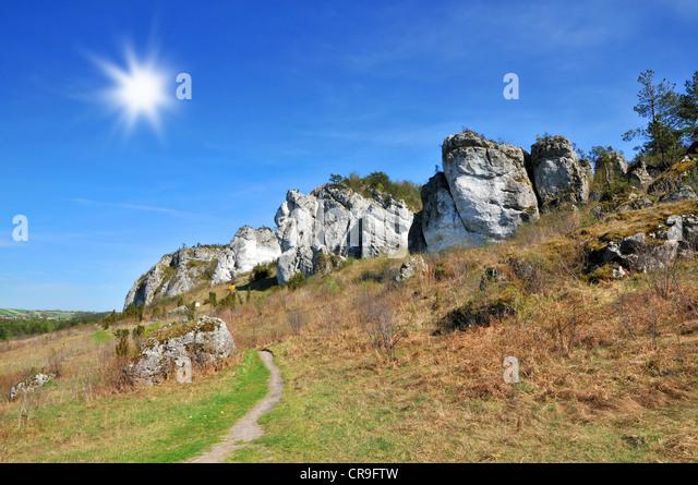 Krakowsko czestochowska stock photos krakowsko for Landscape rock upland ca