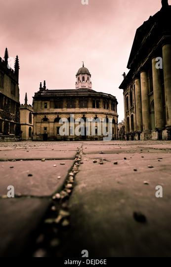 Low street view in Oxford, England - Stock-Bilder