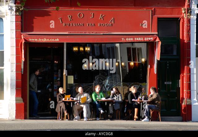 Troika Russian Tea Room Restaurant London