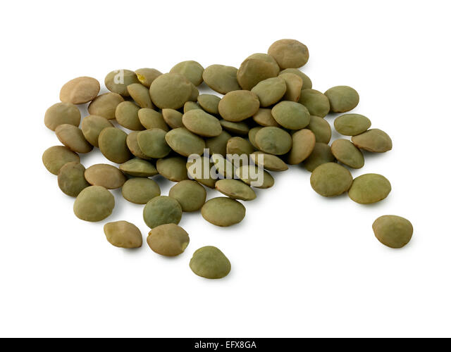 green lentils - Stock Image