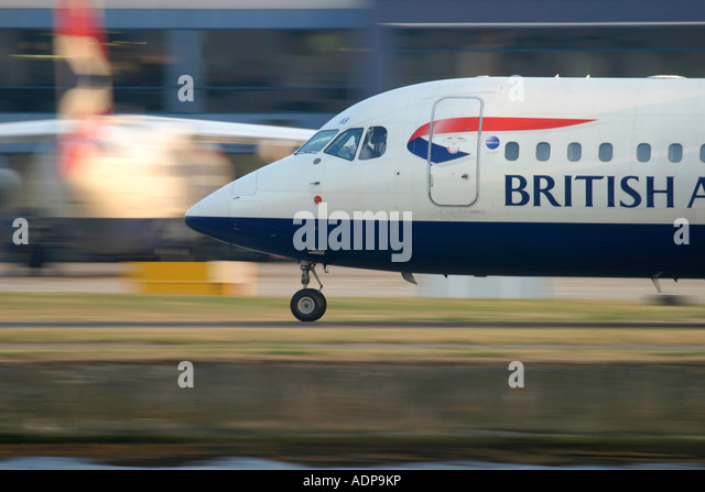 British Airways regional jets - Stock Image