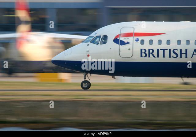 British Airways regional jets - Stock Image
