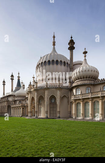 Royal Pavilion, Brighton, East Sussex, England, UK - Stock-Bilder