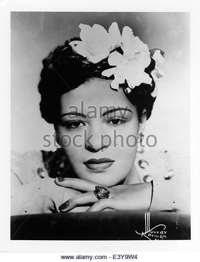 Billie Holiday, circa 1940s - Stock Image