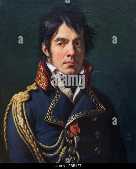 ActiveMuseum_0001846.jpg / Baron Jean-Dominique Larrey, 1804 - Anne-Louis Girodet de Roussy-TriosonOil on canvas25/09/2013 - Stock Image