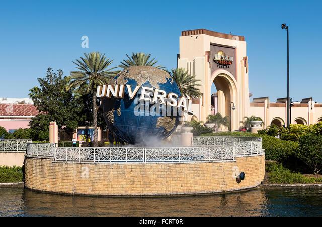 Universal Orlando Resort, Orlando, Florida, USA - Stock Image