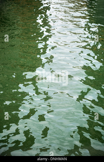 High angle view of a canal, Venice, Veneto, Italy - Stock-Bilder