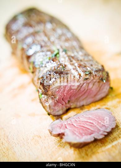 A fillet of pork, Sweden. - Stock Image