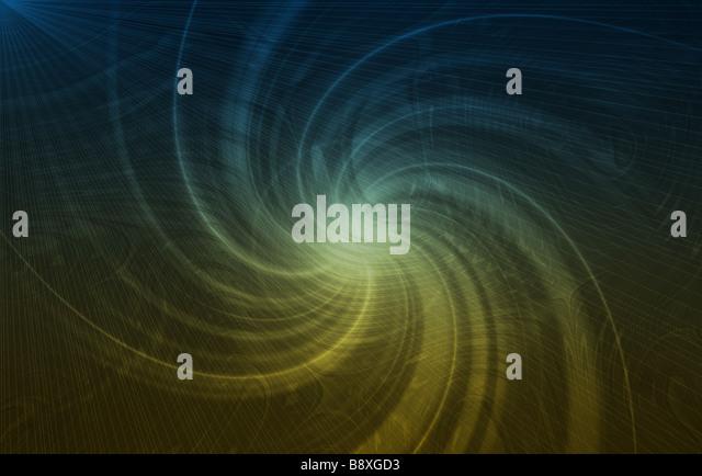 Abstract Vortex Background Texture in Soft Lines - Stock Image