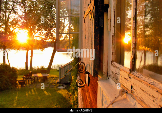 old-fashioned window - Stock Image