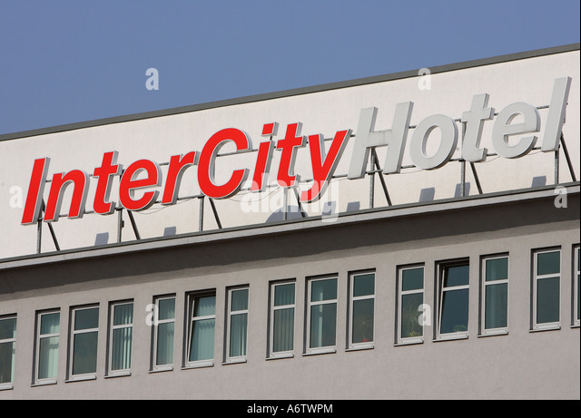 Intercity Hotel, Germany, Europe - Stock-Bilder