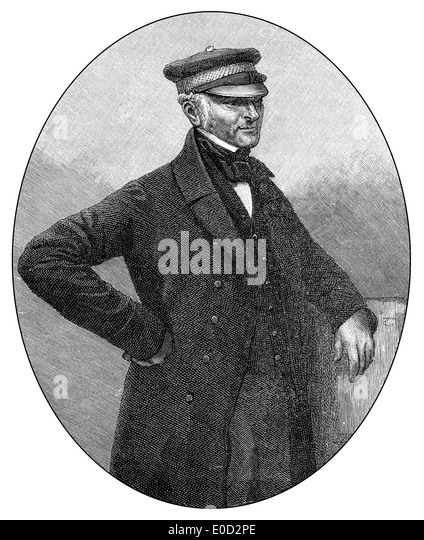 Sir James Simpson, 1792 - 1868, a general of the British Army, - Stock Image