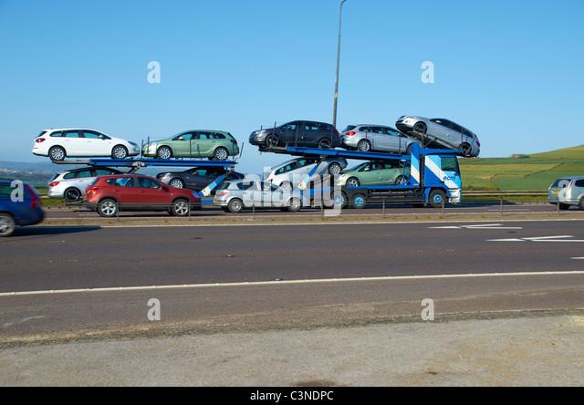 Car Transporter Stock Photos Amp Car Transporter Stock Images Alamy