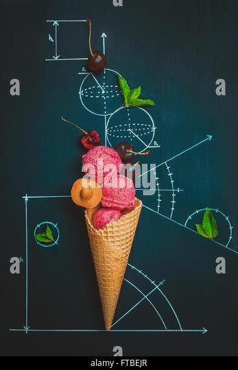 Summer homework - Stock Image