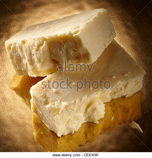 Cornish cruncher cheese - Stock Image