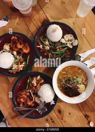 Malaysian Food - Stock Image