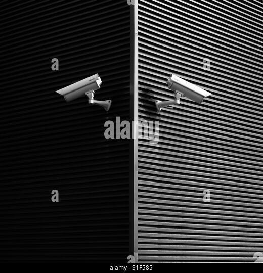 two cameras - Stock-Bilder
