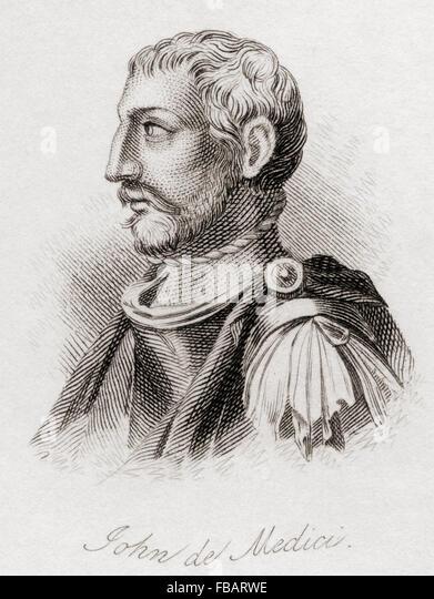 Giovanni di Cosimo de' Medici, 1421 ? 1463.  Italian banker and patron of arts. - Stock-Bilder